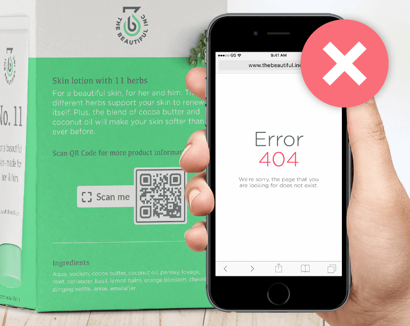 Always check the QR Codes before printing or use Dynamic Code