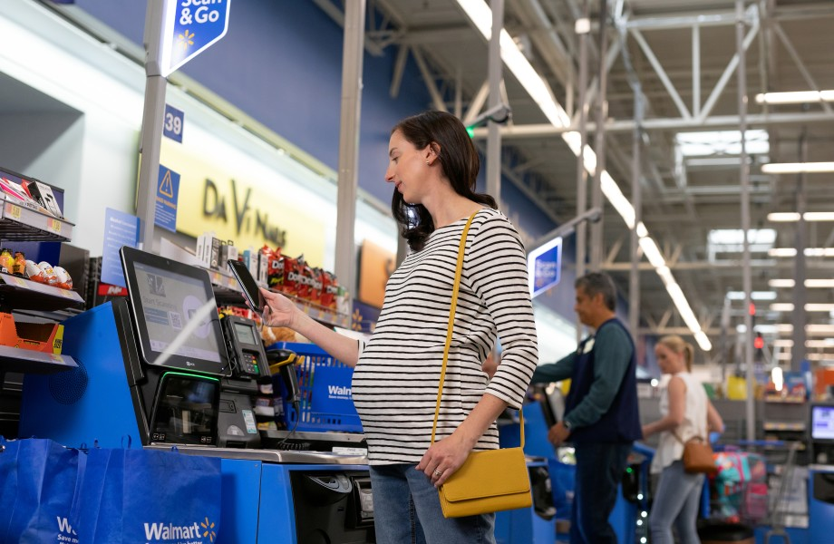 Walmart is enabling QR code payments that allow consumers to pay by scanning a QR code to pay at checkout
