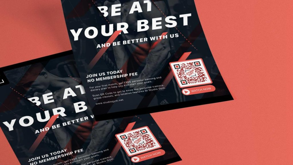 A QR Code added to a flyer makes flyer ROI calculable