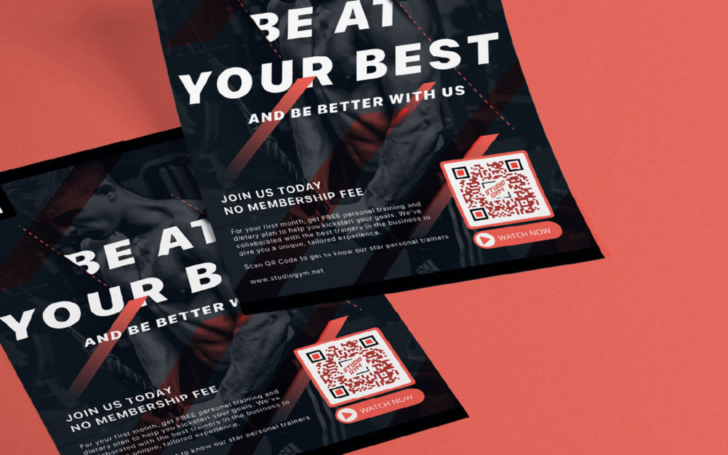 QR Code on direct mails