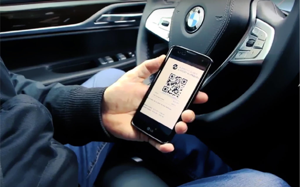 Nuremberg Airport enabled parking access and payment with QR Codes